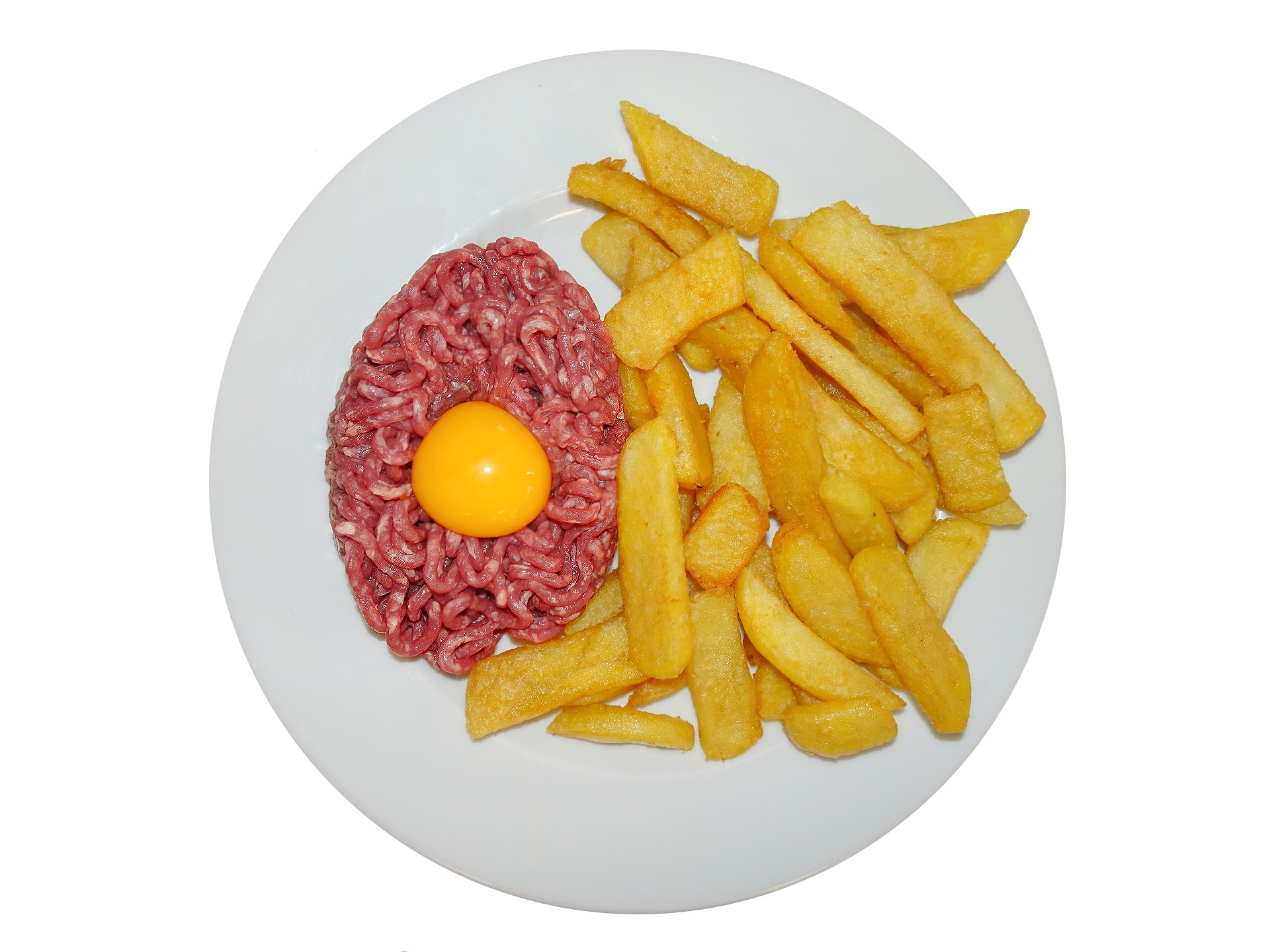 Tartare frites